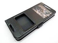 Чехол книжка с окошками momax для HTC Desire 626 / 626g / 626g+ черный
