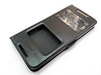 Чехол книжка с окошками momax для HTC Desire 628 / 628 dual sim черный