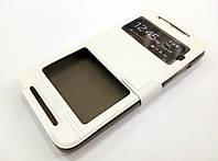 Чехол книжка с окошками momax для HTC Desire 700 dual sim белый