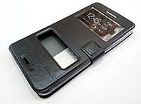 Чехол книжка с окошками momax для HTC Desire 728 dual sim / 728 Ultra black