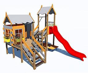 Дитячий ігровий комплекс «ПЛАСТ-7 ІК-6.79