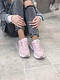 Женские кроссовки Nike Tekno M2K в стиле найк текно Розовые (Реплика ААА+), фото 6