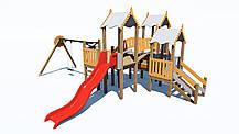 Детский игровой комплекс «ПЛАСТ-6» IК-6.76, фото 2