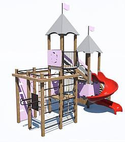Дитячий ігровий комплекс «ПЛАСТ-5» ІК-6.75