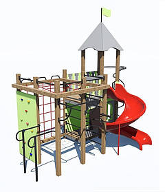 Дитячий ігровий комплекс «ПЛАСТ-4» ІК-6.74