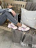 Женские кроссовки Adidas Ozweego в стиле Адидас Озвиго Розовые (Реплика ААА+), фото 3