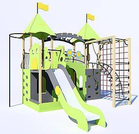 Дитячий ігровий комплекс «Замок для двох принцес» ІК-6.01