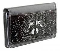 Модный стильный кошелек-портмоне Енот