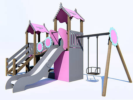 Детский игровой комплекс IK-6.02, фото 2