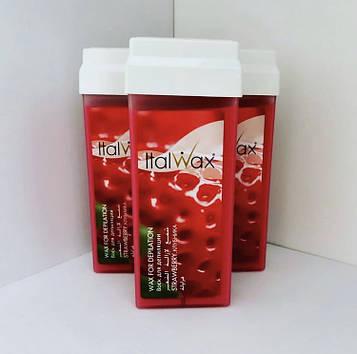 Воск в кассете (в картридже) Клубника Ital Wax (Италия) 100мл