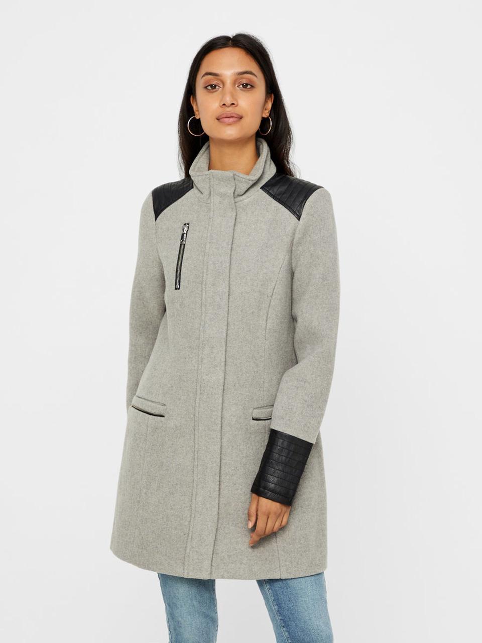 Пальто Vero Moda 10184723 XL Серый