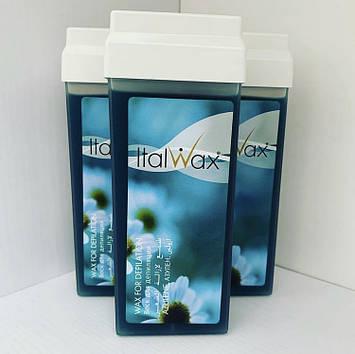 Воск для депиляции в кассете (в картридже) Азулен ItalWax (Италия) 100мл
