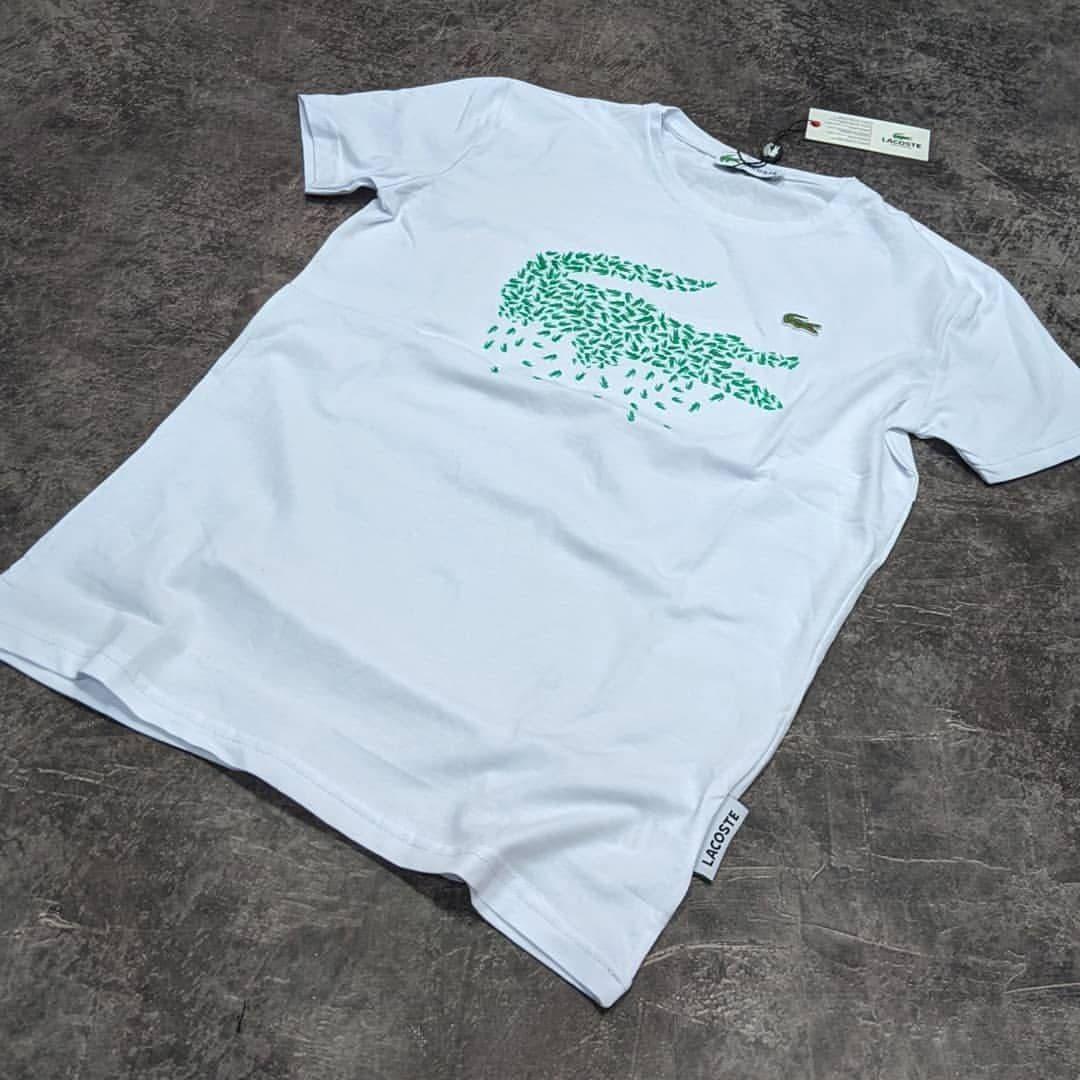 Мужская футболка Lacoste CK1662 белая