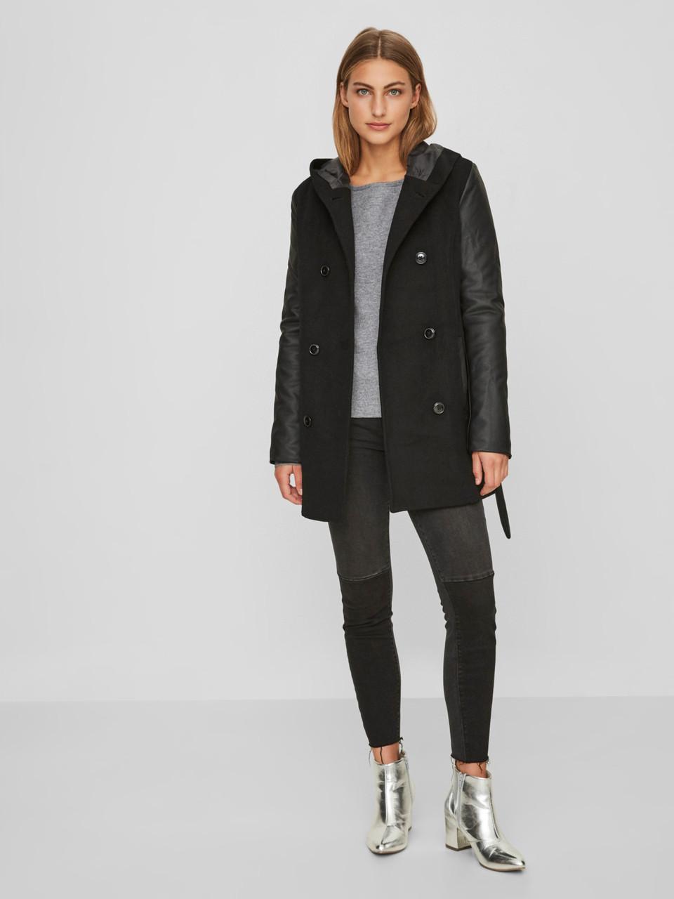 Пальто Vero Moda 10191796 L Черный