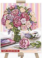 Картина по Номерам Букет Цветов, фото 1