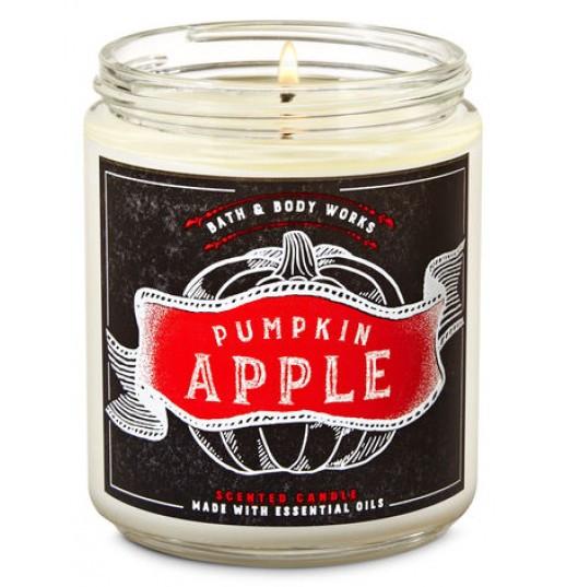 Свеча ароматизированная Bath and Body Works Pumpkin Apple Scented Candle 198 г