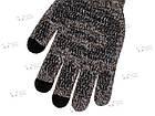 Зимние теплые перчатки iWinter для сенсорных экранов мужские женские Size S Коричневый / Белый (D-Z01) [2438], фото 3