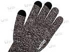 Зимние теплые перчатки iWinter для сенсорных экранов мужские женские Size S Коричневый / Белый (D-Z01) [2438], фото 4
