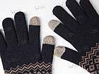 Зимние теплые перчатки Xiaomi FO Touch Screen Gloves для сенсорных экранов мужские женские Черный [2016], фото 6