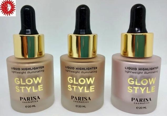 Жидкий хайлайтер для лица Parisa Cosmetics PH-03