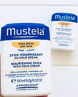 Мустела стик с колд крем от непогоды Mustela stick cold cream Гидра-стик питательный для сухой кожи