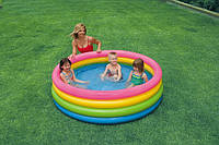 """Бассейн детский надувной """"Пылающий закат"""". Размер бассейна 168 х 46 см."""