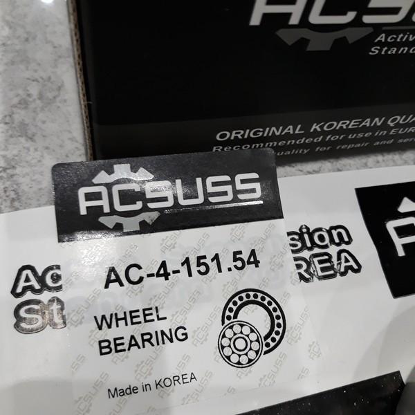 Усиленный Подшипник ступицы Mercedes Sprinter Мерседес Спринтер (1995-) 2D0501319. Задн. ACSUSS Корея