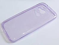Чехол силиконовый ультратонкий для HTC One mini 2 (M8 mini) фиолетовый