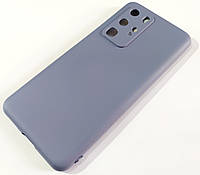 Чехол для Huawei P40 Pro матовый Silicone Case Full Cover Macarons Color