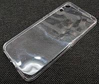 Чехол для Honor 8A, Honor 8A Pro силиконовый прозрачный