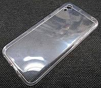 Чехол для Honor 8S силиконовый прозрачный