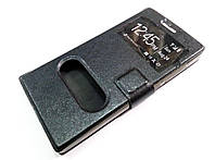 Чехол книжка с окошками momax для Huawei Ascend P7 mini черный