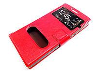 Чехол книжка с окошками momax для Huawei Ascend P7 mini красный
