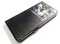 Чехол книжка с окошком momax для Lenovo K6 Note k53a48 черный