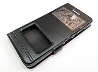 Чехол книжка с окошками momax для Lenovo Vibe S1 черный