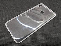 Чехол для Huawei Honor 8X Max силиконовый прозрачный с матовым ободком