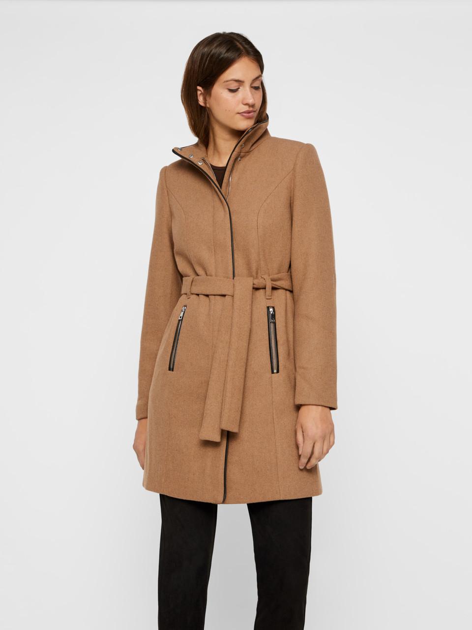 Пальто Vero Moda 10199024 L Бежевый
