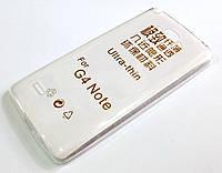 Чехол для LG G4 stylus силиконовый ультратонкий прозрачный