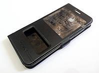 Чехол книжка с окошками momax для Samsung Galaxy J5 j530 (2017) черный