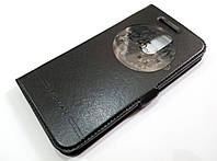 Чехол книжка с окошком momax для LG K10 2017 m250n / x400 черный