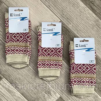 Шкарпетки жіночі напівшерстяні Класик, арт.15В-75, 25 розмір, полиново-бузкові, 05911