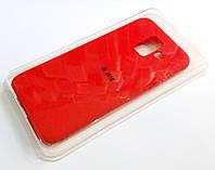 Чехол для Samsung Galaxy J6 J600 2018 силиконовый Molan Cano Jelly Case матовый красный