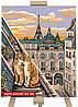 Картина по Номерам Коты на Крыше