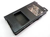 Чехол книжка с окошками momax для Sony Xperia Z5 compact e5823 черный