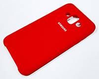 Чехол Silicone Case Cover для Samsung Galaxy J7 Duo J720 красный