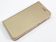Чехол книжка KiwiS для Xiaomi Mi 5c золотой