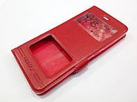 Чехол книжка с окошками momax для Xiaomi Mi 5s красный