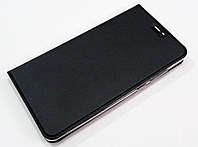 Чехол книжка KiwiS для Xiaomi Mi 5s Plus (Mi5s Plus) черный