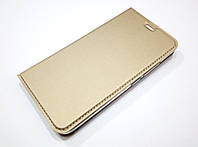 Чехол книжка KiwiS для Meizu M3e золотой