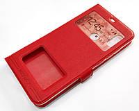 Чехол книжка с окошками momax для Xiaomi Mi 8 Pro красный